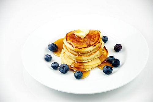 Assiette-pancakes